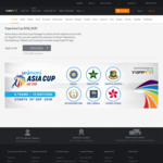 Asia Cup Cricket Subscription HD AU $19.47 GST Inclusive @ Yupp TV