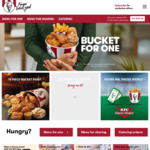 Burger Deluxe Combo $7.45 at KFC via App