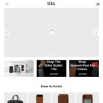 "40% off Sitewide (Free Shipping over USD$39 Spend) @ SENA Cases (e.g iPad Pro 11"" Cases and 12.9"" - USD $60 (RRP $99.94)"