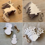 10% off Christmas Products - Prices from $2 @ Laser Cut Crafts