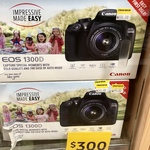 [NSW] Canon EOS 1300D with 18-55mm Lens Kit $300 @ Target, Ballina