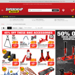 SCA 3000kg Pin Car Stands $46.95 (Save $38.04) / SCA 1200kg $23.97 (Save $25) @ Supercheap Auto