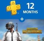 [PS4] PUBG + 12 Month PlayStation Plus Membership $93.45 @ PlayStation Store