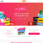 Successfully Rent a Property & Receive a $100 Gift Card (On Selected Listings) @ Rent.com.au