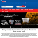5% off @ Discount Trader (Tool Warehouse)