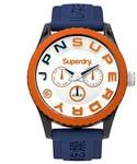 Superdry Multi Function Blue Dial Watch $23.20 (Was $79.95) @ David Jones