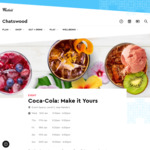 [NSW] Free - Coca-Cola: Make it Yours (Coke Mocktail) @ Chatswood Westfield, Sydney