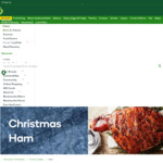 Christmas Ham $4/kg (5.5kg Piece for $12) @ Woolworths