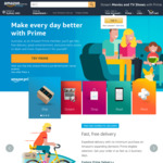 Amazon AU Prime Trial for 2 Months (Initial 30-Day Extension for Another Month)
