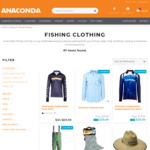 All Sublimated Fishing Shirts (Shimano, Penn, Abu Garcia & Berkley) $39.99 @ Anaconda