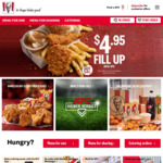 [WA] $10 Bucket of 30 Nuggets + 4 Sauces (via App) @ KFC