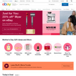 $5 off or 5% off Plus Items (Min Spend $50) @ eBay [Paid Plus Members] / $30 off (Min Spend $60) When You Join eBay Plus ($49)