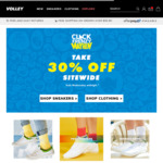 30% off Sitewide @ Volley