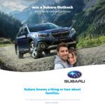Win a 2018 Subaru Outback & Family Getaway Worth $50,990 from Nova