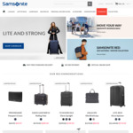 40% off Sitewide + Free Shipping @ Samsonite