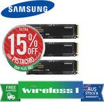 Samsung 970 EVO Plus 500GB M.2 NVMe SSD $135.15 + Delivery ($0 with eBay Plus) (- $22 Cashback via Redemption) @ Wireless 1 eBay