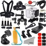 Kupton Accessories for GoPro Hero 5/ 4 Session $32.99 (Was $37.99) + Post (Free with Prime/ $49+) @ Dino Mart Amazon