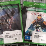 [VIC, XB1] Sekiro: Shadows Die Twice $39.97, Anthem $8.99 @ Costco, Epping (Membership Required)