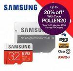 Samsung EVO Plus 32GB Micro SD - 2 for $12 + Delivery ($0 w/eBay Plus) @ Apus Express eBay