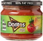 Doritos Salsa Mild, Medium or Hot 8 x 300 Grams $13.99 + Delivery ($0 with Prime/ $39 Spend) @ Amazon AU