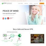 1-Year VPN Subscription USD $29 (~AUD $42.50) @ Private Internet Access