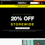 20% off Store Wide and Online with Free Shipping Australia Wide @ Superdry