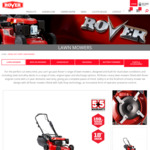 Rover Regal Catch N Mulch Electric Start Lawn Mower $349 Delivered @ rover.com.au