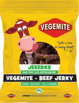 JEEERKS Vegemite Beef Jerky 30x35g Family Box $110.50, BBQ/Chilli/Original 1kg $66.59 (+ Shipping / Free $100 Spend) @ Jeeerks