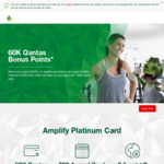 St. George Bank Amplify Platinum Visa $99 Annual Fee 1st Year with 60,000 Qantas Points ($2,000 Min Spend within 90 Days)