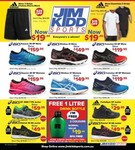 adidas & Puma: Backpacks, Shorts and Shirts from $19.95, Shoes from $29.95, ASICS Shoes from $49.95 + Shipping @ Jim Kidd Sports