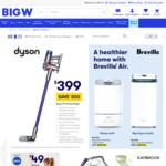 Dyson V7 Animal Origin $399 C&C /In-Store (No Delivery) @ BIG W