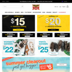 $15 Polos, All Swimwear & Clearance Clothing* | Free Delivery over $80 @ Rivers