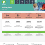 Pennytel Mobile SIM Only Plans: 1st Month Free, No Contract, 20GB