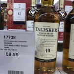 [VIC] Talisker 10 for $59.99 at Costco Docklands (Membership Required)