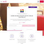 Double Velocity Points on Eligible Flights @ Virgin Australia