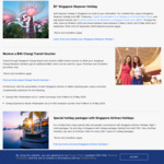$1 Singapore Stopover (2 Night Hotel + Admission to 20 Attractions) for Those En-Route to Another Destination [SQ/MI/TR Flights]