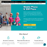 Sim Only Mobile Plan - 60GB for $49 (No Locked-in Contract) @ Optus