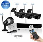 4×1080p Wireless Security Camera System Set $179.99 (Was $299.99) Delivered + More Offers @ JOOAN CCTV Amazon