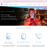 Telstra Month-to-Month Data Plans $10 Mthly Credit for 12mths