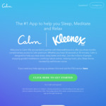 3 Months (Usually 7 Days) Free Access to Calm Premium