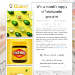 Win a Months Supply of Groceries at Woolworths from Really Simple Money