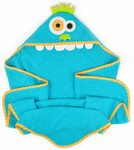 80cm X 80cm Hooded Towel for Infant to Toddler - Monster $4.20 + Delivery (Free with Prime / $39 Spend) @ Amazon AU