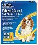 Nexgard Spectra Small Dog (3.6kg - 7.5kg) 6 Months for $55.49 (+ Free Shipping) at Amazon