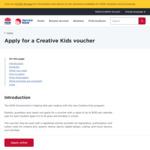 [NSW] Free $100 Creative Kids Voucher Per Eligible Student @ MyServiceNSW