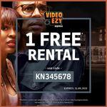 One Free Rental @ Video Ezy Kiosks
