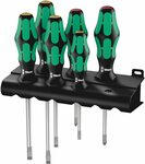 Wera 334/6 Rack Screwdriver Set + Laser Tip $34.90 | 12 Screwdriver Set $48.16 + Delivery ($0 w/ Prime) @ Amazon UK via AU
