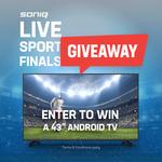 """Win a SONIQ 43"""" Android TV from SONIQ"""
