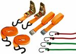 8pc Repco Tie down Straps & Ratchet $9 + $9.90 Shipping or Free C&C @ Repco