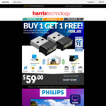 $10 off $50+ Spend, 2 x Asus USB-AC53 $59 + Delivery @ Harris Technology