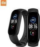 2020 Xiaomi Mi Band 5 Smart Heart Rate Fitness Tracker Bluetooth Waterproof Band A$35.79 @ Mi Global Zone Store via AliExpress